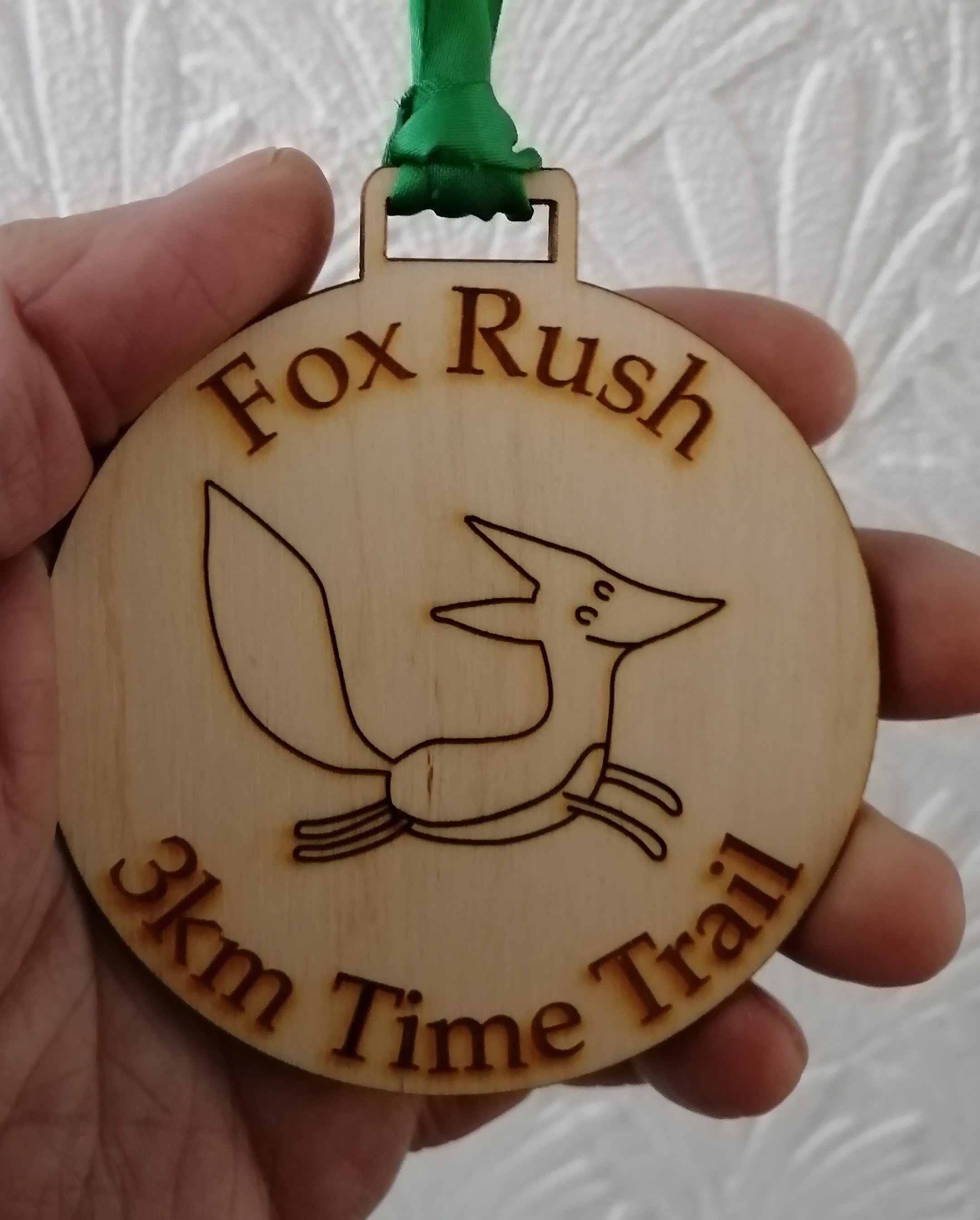 fox rush medal